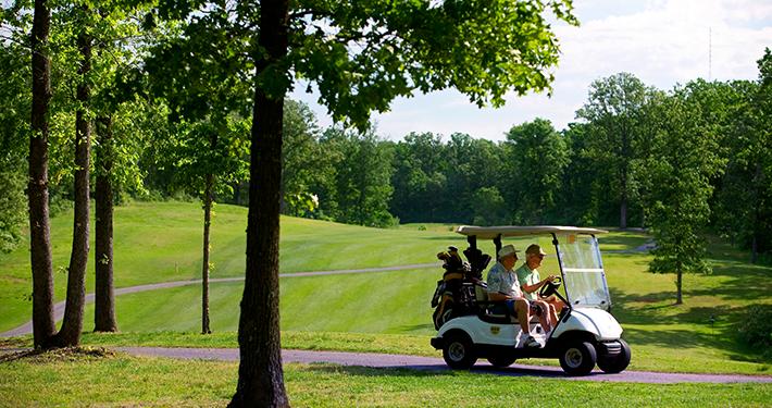 Bella Vista Golf Courses in Northwest Arkansas - Today's Play - Tee