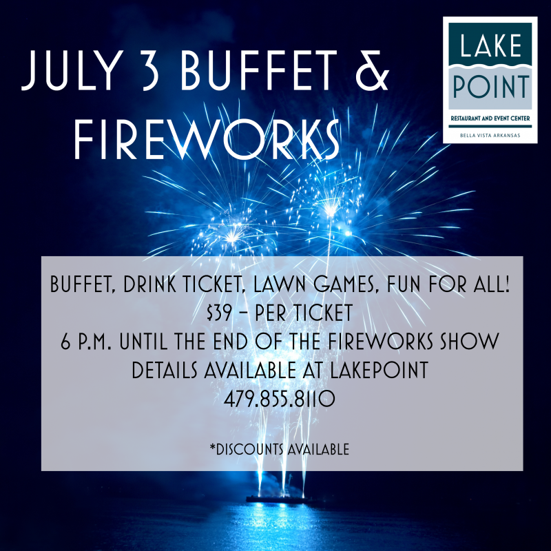 Independence Day Celebration and Fireworks at Lakepoint