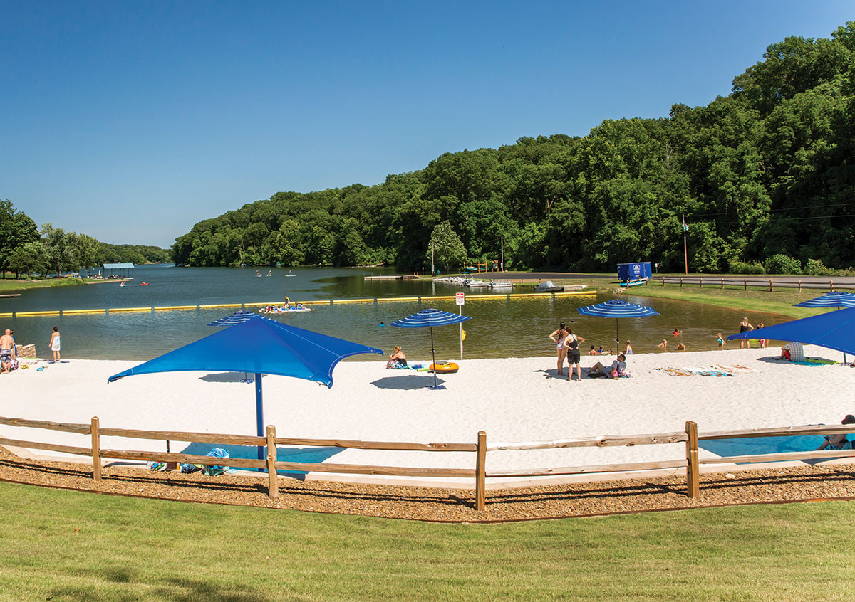 Expand the Beach at Lake Avalon, plus more picnic area.