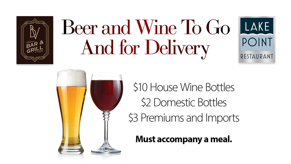 Beer and Wine To Go and Delivery
