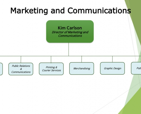 Organization Chart 2020 – Marketing