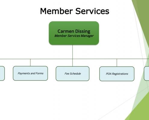 Organization Chart 2020 – Member Services