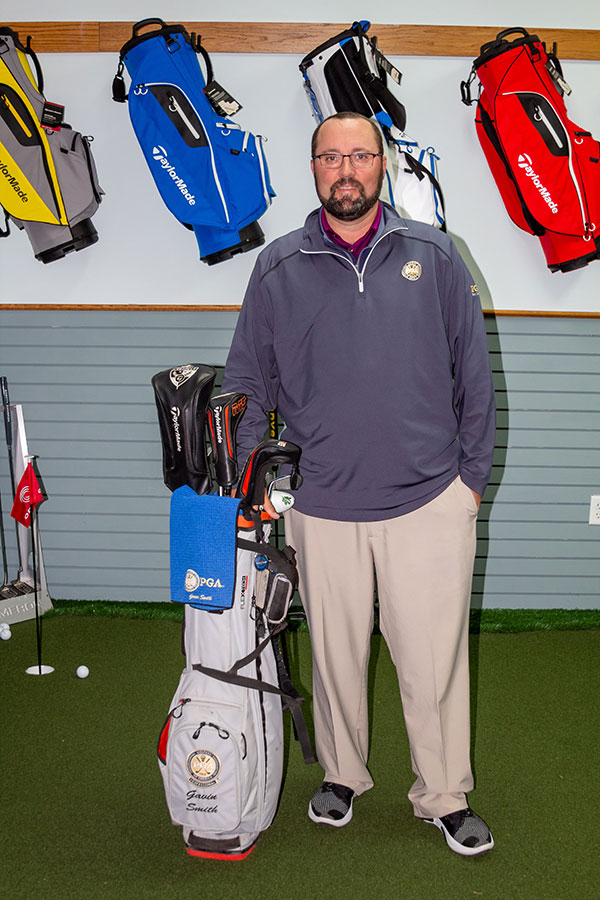 <center>Gavin Smith, PGA</center>
